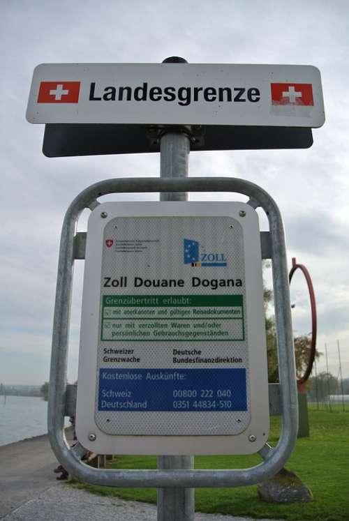 Country Border Switzerland Shield Border