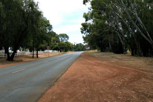 Country Road Highway Australia South West Manjimup