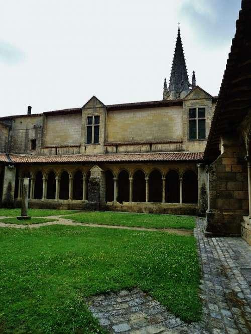 Courtyard Court Garden Church Ark Calm Rest