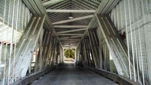 Covered Bridge Structural Rural Bridge Structure