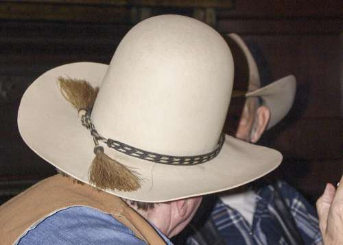 Cowboy Hat Human Head Man Person