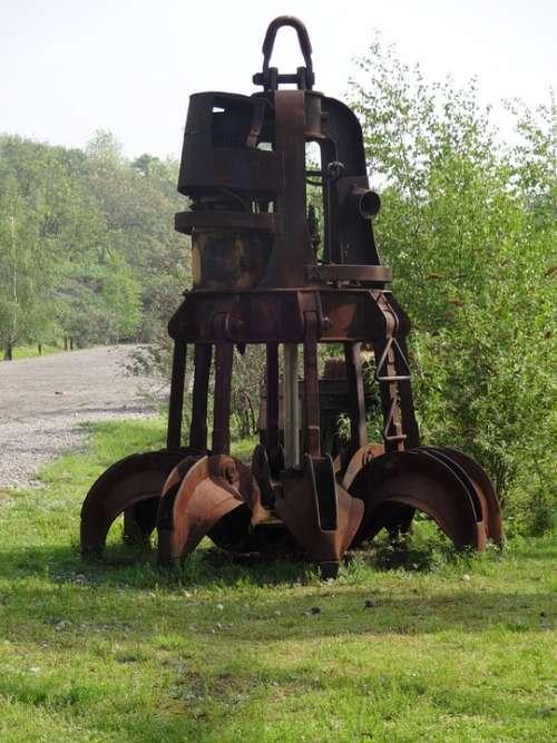 Crane Rust Duisburg Ruhr Area