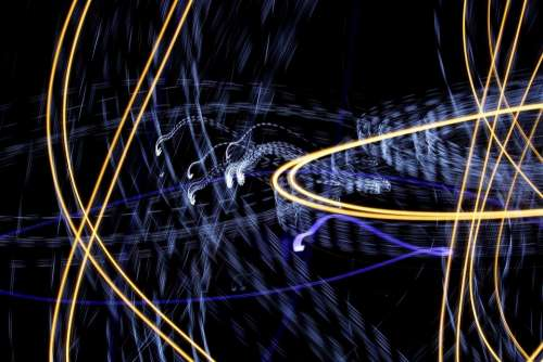 Crazy Lights Background Crazy Lights Background
