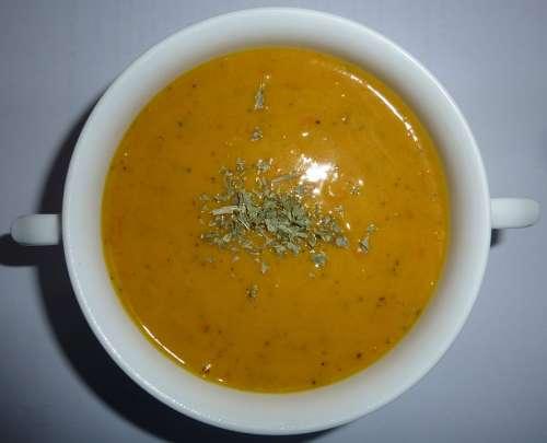 Cream Of Pumpkin Soup Eat Soup Delicate