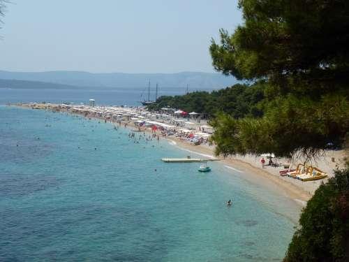 Croatia Dalmatia Beach Bowl