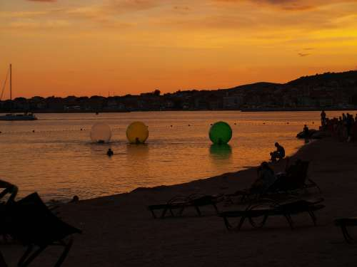 Croatia Vodice Sunset