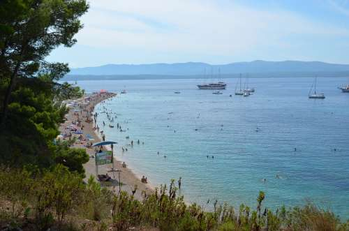 Croatia Sea Beach Summer