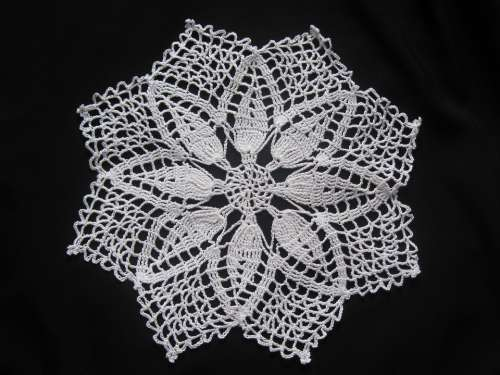 Crochet Blanket Crochet Hand Labor Black And White