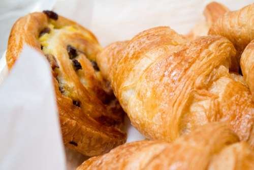 Croissant Pastry Baking Food French Sweet Snack