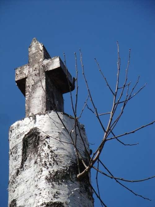 Cross Birch Christianity