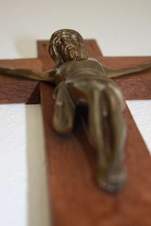 Cross Jesus Wood Church Christ Christianity