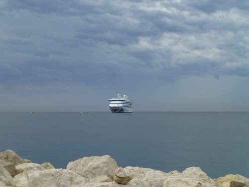 Cruise Aida Cruise Ship Sea Ship Travel