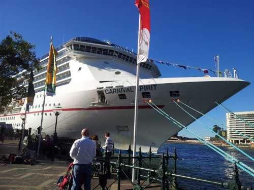 Cruise Boat Sydney Harbour Australia