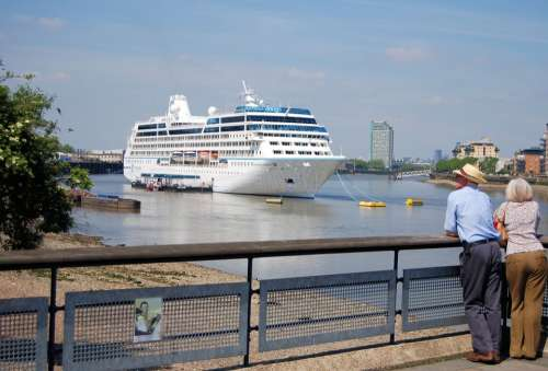 Cruise Liner Tourism Ocean Going Shipping Travel