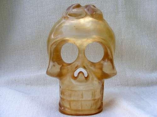 Crystal Skull Mask Minerals Crystals Honey Quartz