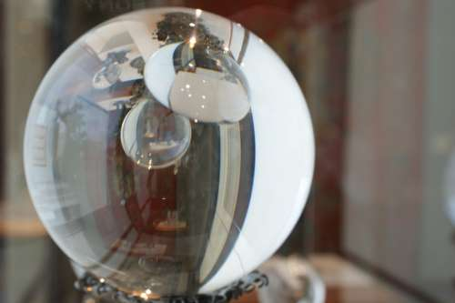 Crystal Ball Glass Sphere Decoration Ball