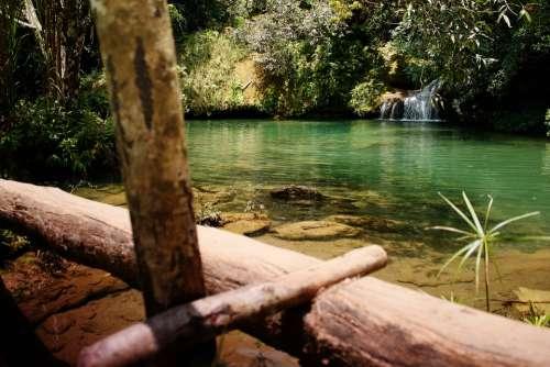 Cuba Landscape Nature Green Lagoon Trinidad