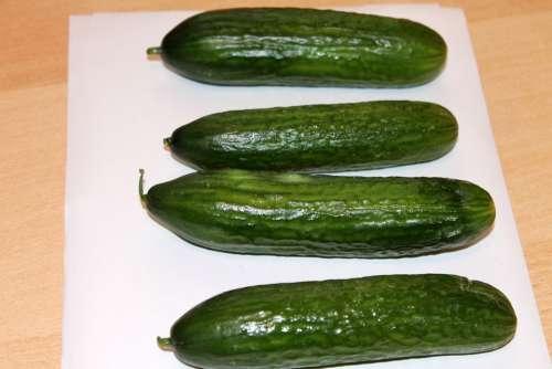 Cucumber Vegetables Vegan Vegetarian