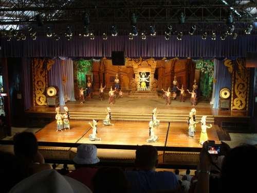 Culture Show Pattaya Thailand Southeast Asia