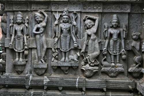 Culture Temple Stonework Crftsmanship God Heritage