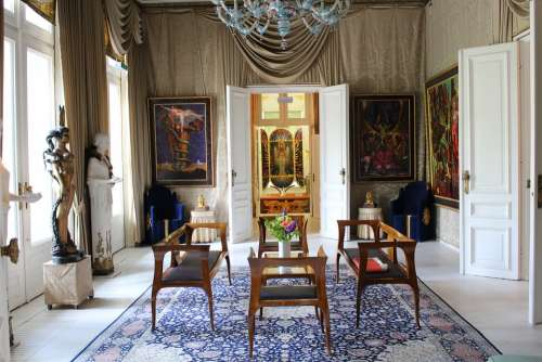 Culture Art Nouveau Ernst Fuchs Otto Wagner Villa