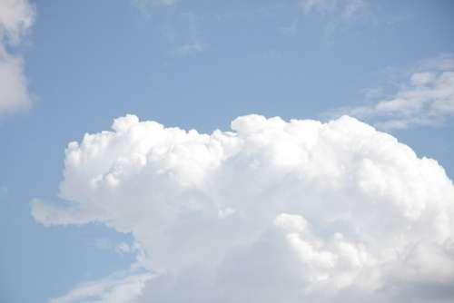 Cumulus Clouds Clouds Summer Sky