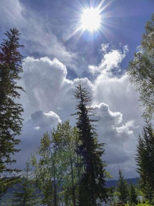 Cumulus Clouds Clouds Thunderstorm Weather Sky