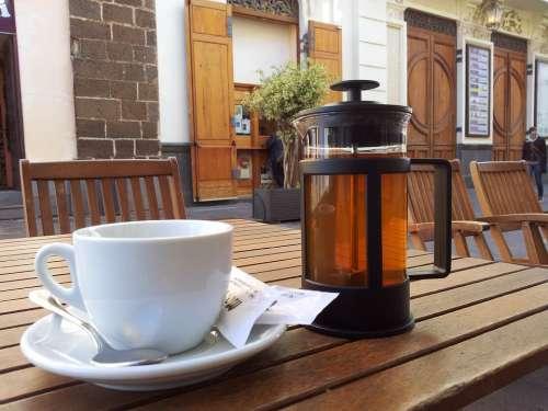 Cup Terrace Cafe Tea
