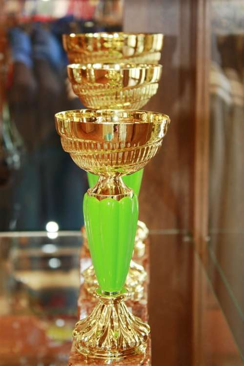 Cups Retro The Goblet Prize Gold The Rivalry