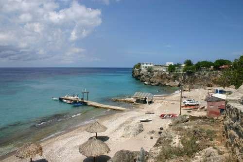 Curacao Beach Water