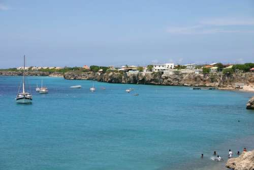 Curacao Beach Water