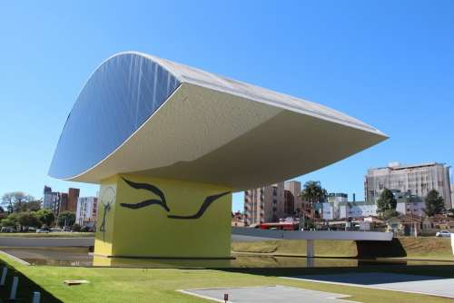 Curitiba Oscar Niemeyer Museum Of The Eye Brazil