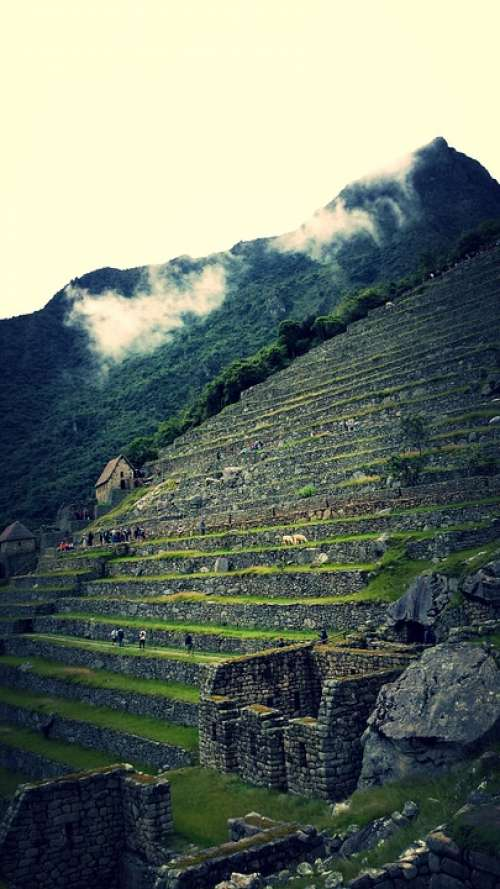 Cusco Sacred Valley Andes Archaeological Inca Peru
