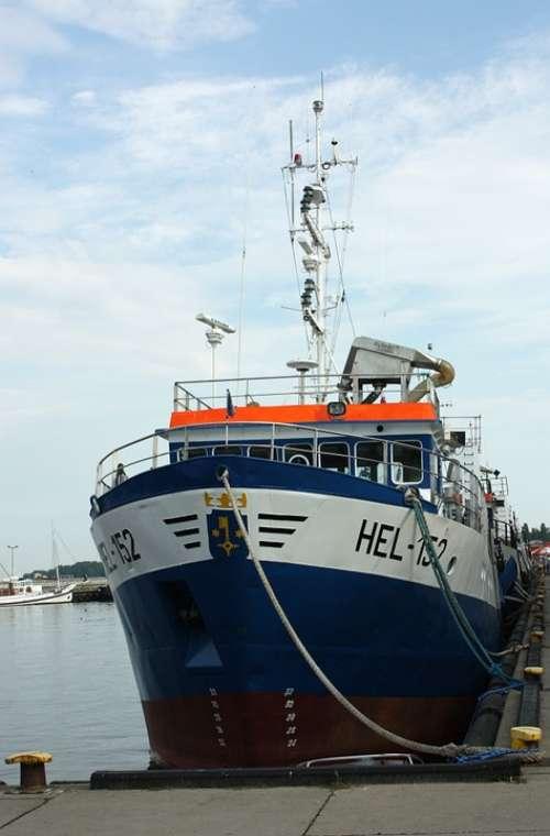 Cutter Ship Cruises Sail Boat Didn'T Fishing Sea