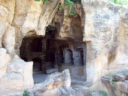 Cyprus Heritage Tomb Of Kings Mausoleum Graveyard