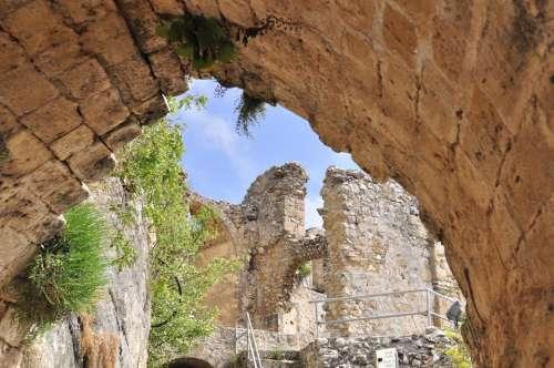 Cyprus North Cyprus Castle Ruin