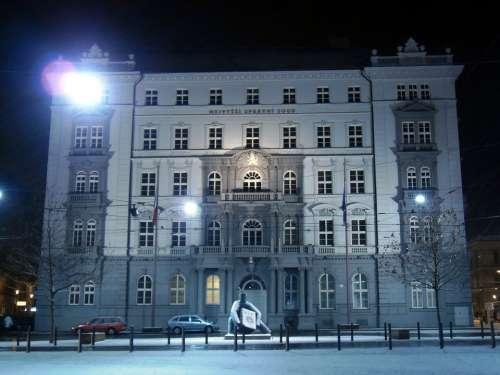 Czech Republic Supreme Court Building Landmark
