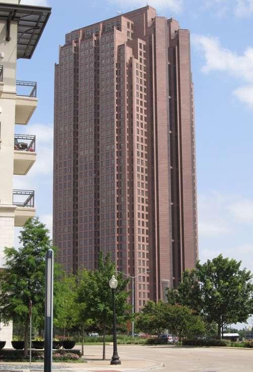 Dallas Skyline Buildings Downtown Office Buildings