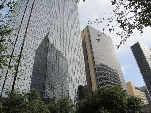 Dallas Skyscraper Office Buildings High Rise
