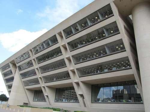 Dallas City Hall Building Dallas Texas Government