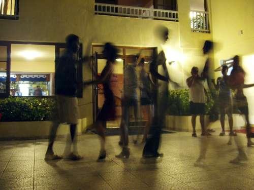Dance Rhythm Salsa Movement Couples Human Party