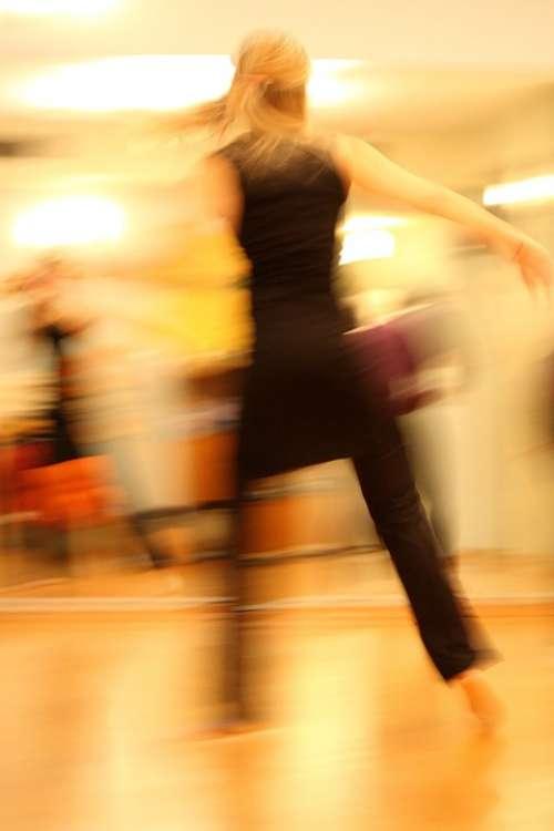 Dancing Dancers Movement Dance Women Fitness