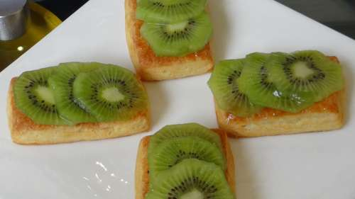 Danish Pastry Fruit Pastry Sweet Delicious Fresh