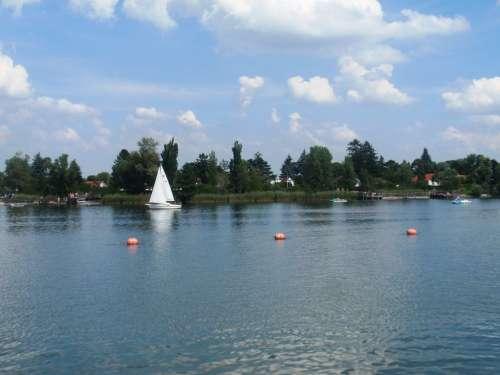 Danube Sail Water Wet Wave Boat Beach