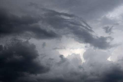 Dark Clouds Clouds After The Storm Dark Sky Rain