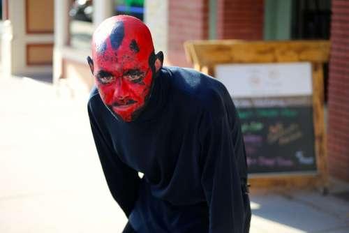 Darth Maul Costume Star Wars Man Devil Evil