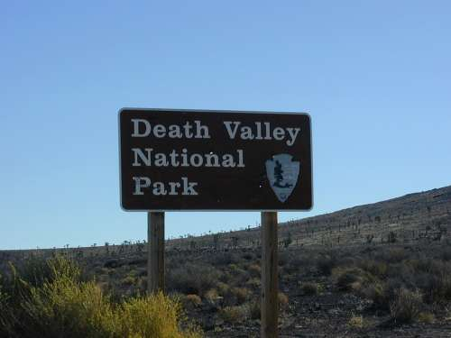 Death Valley National Park Shield Mojave Desert