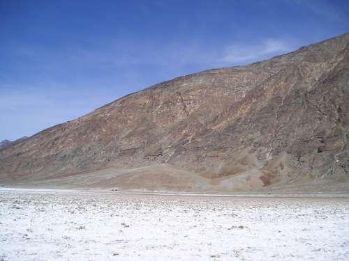 Death Valley California Usa Hot Dry Sea Level
