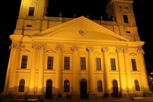 Debrecen Hungary The Great Church Of Debrecen