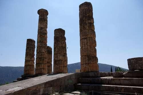 Delphi Greece Excavations
